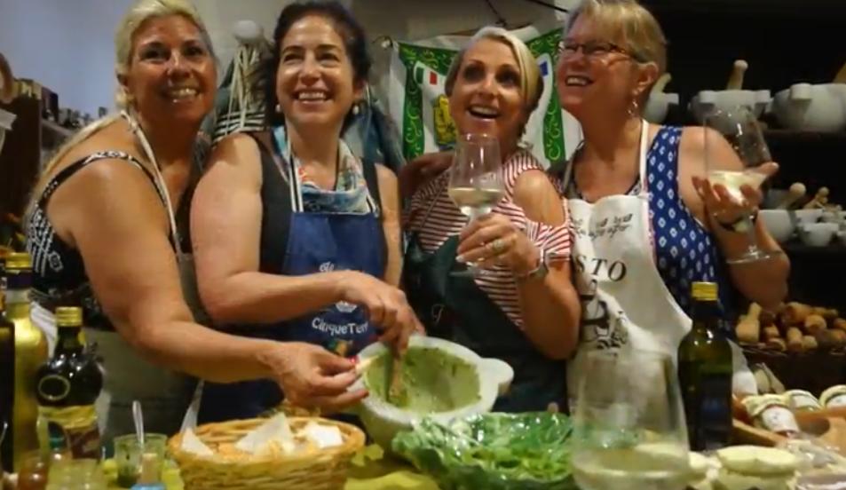 Pesto Making in the Cinque Terre