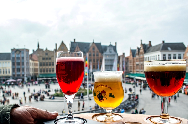 Beer Hunting in Bruges